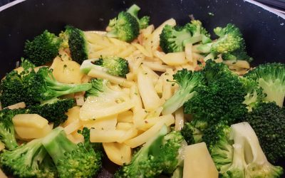 Brokkoli Kartoffel Pfanne