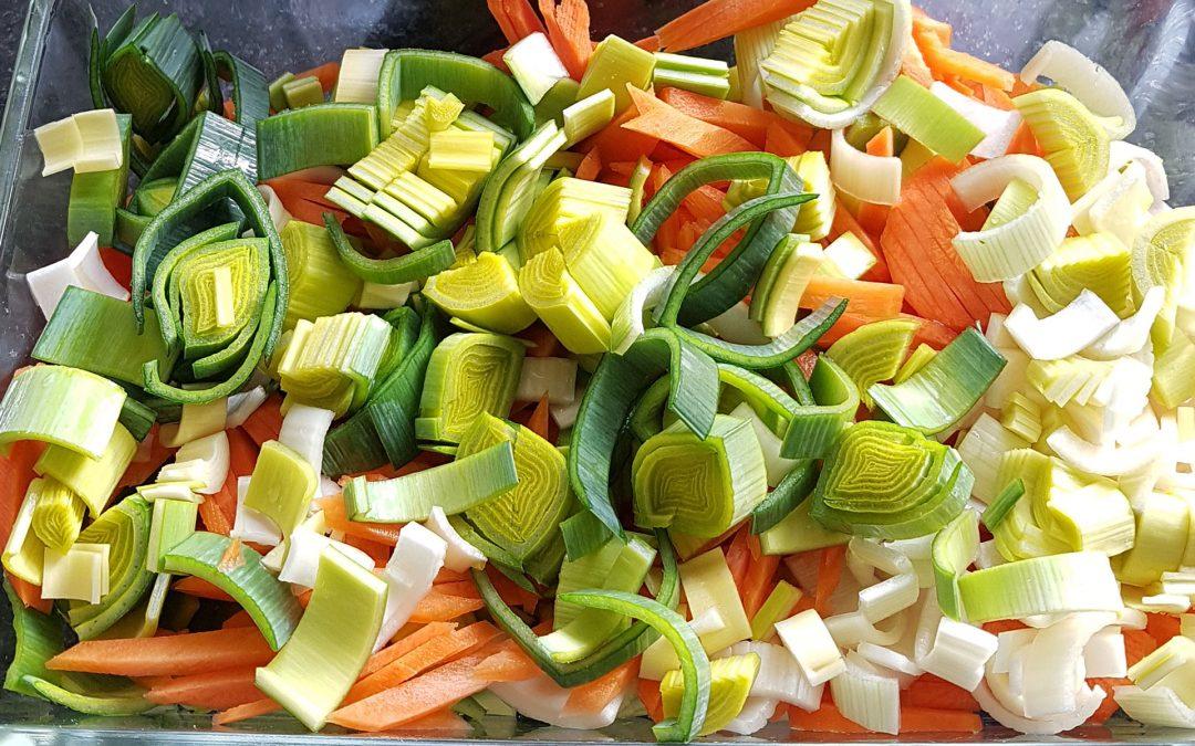 Karotten Lauch Auflauf