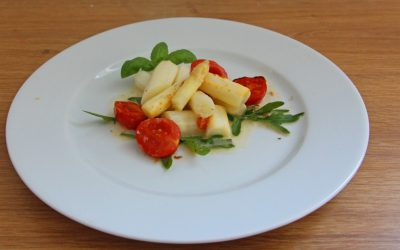 Spargel- Tomaten Gemüse
