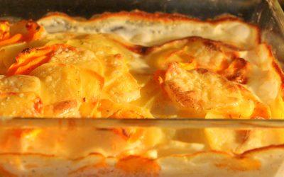 Kartoffel-Karotten Auflauf