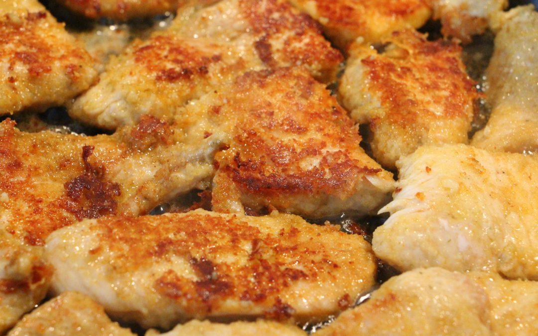 marinierte Puten-Schnitzelchen