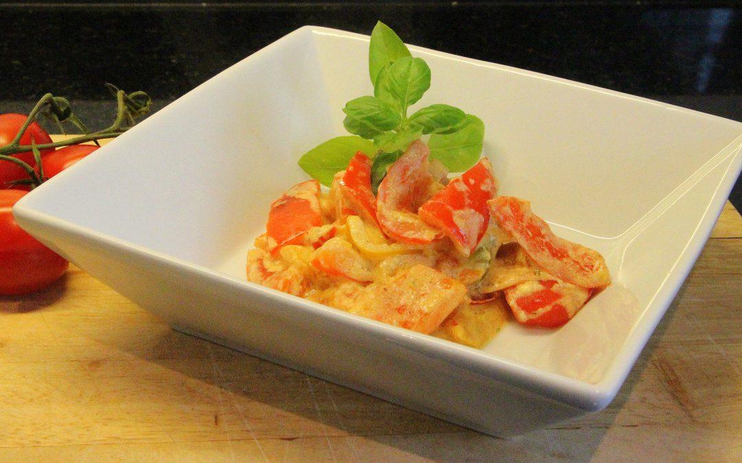 Paprika- Tomaten Gemüse