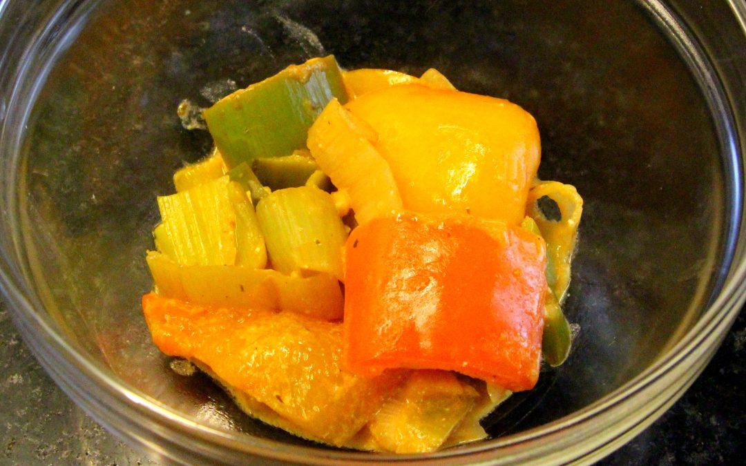 Paprika Lauch Gemüse
