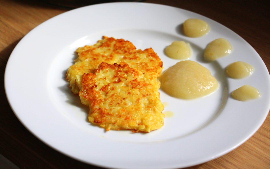 Kartoffel -Karotten Rösti
