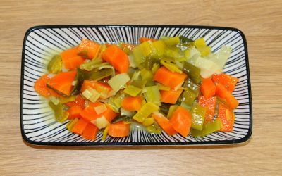 Karotten Lauch Gemüse