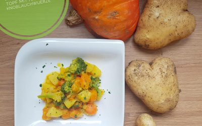 Kartoffeln mit Kürbis